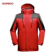 2018 Tahan Air 10000mm Red Hiking <span class=keywords><strong>Jaket</strong></span>