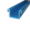 Customized U shape upvc plastic extrusion and co-extrusion pvc profile