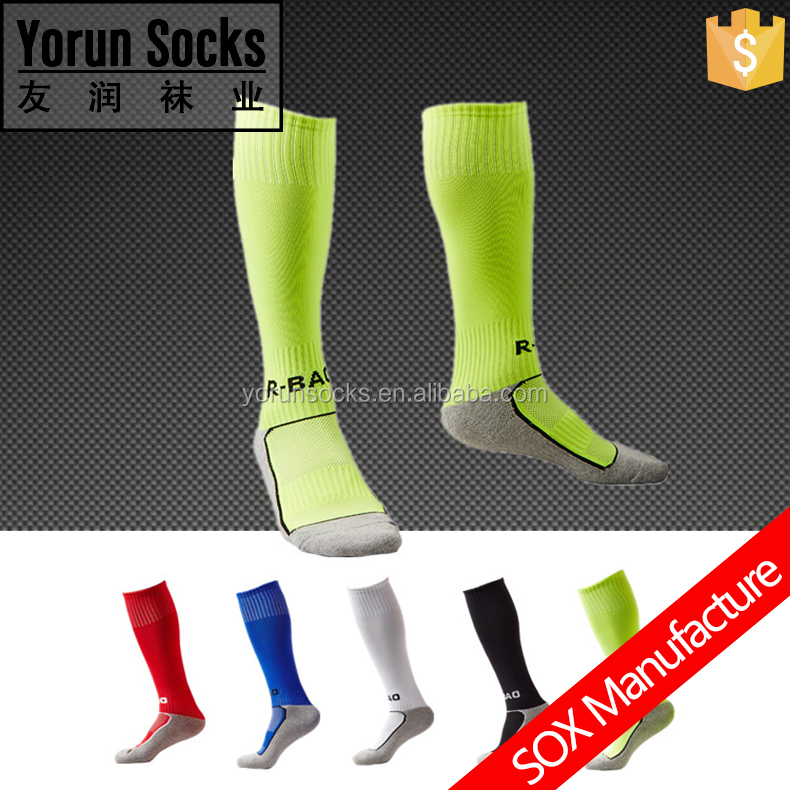 Children's football polyester socks knee high cotton socks soccer sock
