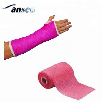 High Quality Polyurethane Medical Fiberglass Long Arm Cast,Leg Fracture  Bandage - Buy Medical Fiberglass Casting Tape,Fiberglass Walking Cast,Leg