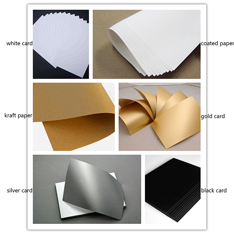 WZD20-3 Rose gold stamping logo nice design full color printing gift bag paper bag for cosmetic packaging