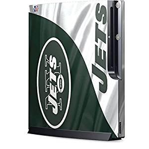 NFL New York Jets Playstation 3 & PS3 Slim Skin - New York Jets Vinyl Decal Skin For Your Playstation 3 & PS3 Slim