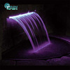 2400*600*300mm Stainless Steel Swimming Pool Spa Impact Bath Fountain Swimming Pool Waterfall