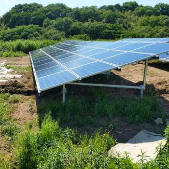 Solar Panel Ground Mounting Brackets 1mw Pv Mounting Kits Solar Mounting  Structure - Buy Solar Steel Structure,Structural Steel Brackets,Adjustable