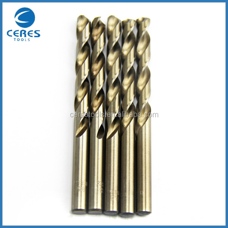 Bottom price hot sale hss twist drill bits with left hand