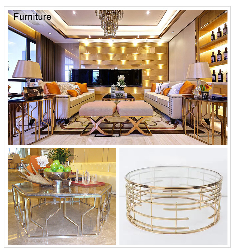 High Quality  Hop Sale High Quality Decorative Stainless Steel Frame.