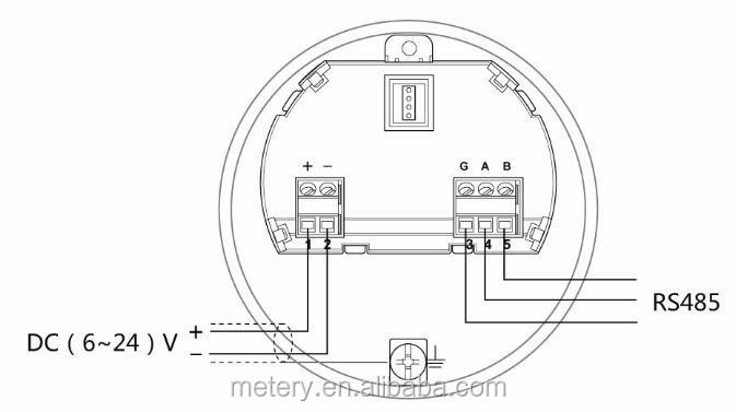 lpg sensor de nivel del tanque