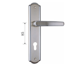 Classic Pop Metal Plate Euro Style decorative 250~280mm Zinc Alloy Door Locks And Handles