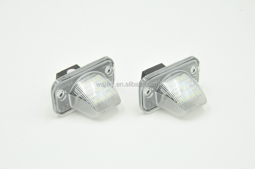 2015 New coming car accessaries for VW T4 90-03 for Jetta/Syncro 05~ for Transporter for Passat led license plate late light
