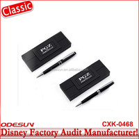 Disney Michaels NBCU FAMA BSCI GSV Carrefour Factory Audit Manufacturer Non Retractable Customized Fancy Ball Point Pen