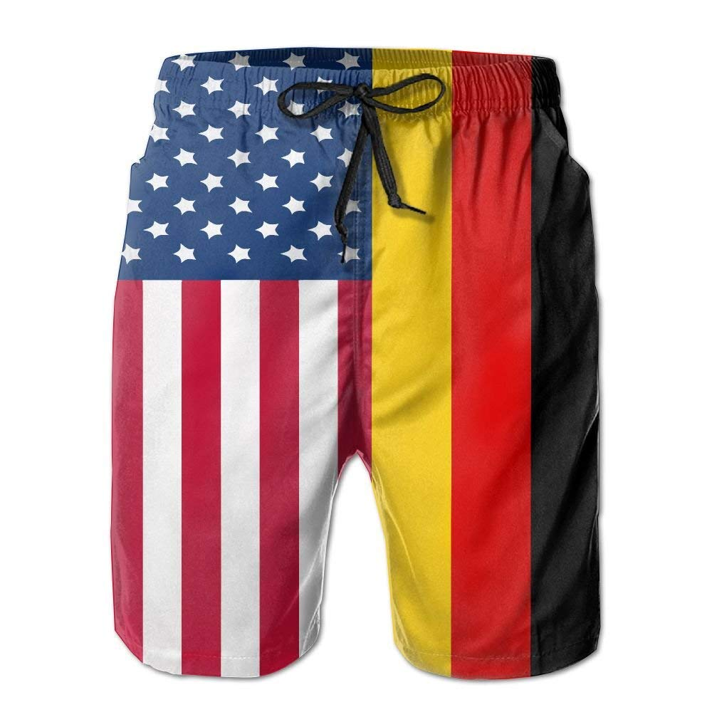 American Flag Ice Hockey Mens Boardshorts Printing Beachwear
