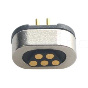 Chinese custom 2 3 4 5 6 7 8 9 10 pin male female magnetic connector for wire