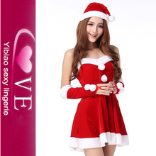 Sexy santa girl dress