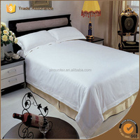300T cotton sateen stripe king size hotel wholesale comforter sets bedding