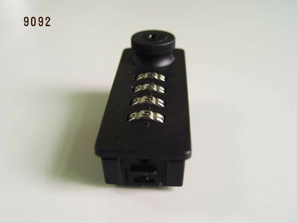 4 digit mechanical combination lock key overide for locker, cabinet