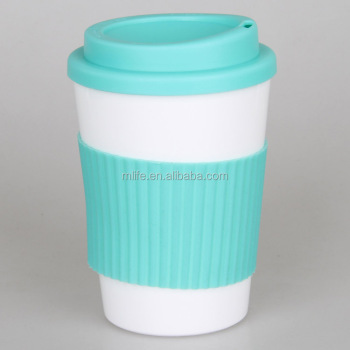 eco-friendly PP plastic insulated double wall coffee cup