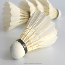 Super durable quality goose feather RSL NO.1 badminton sports shuttlecock