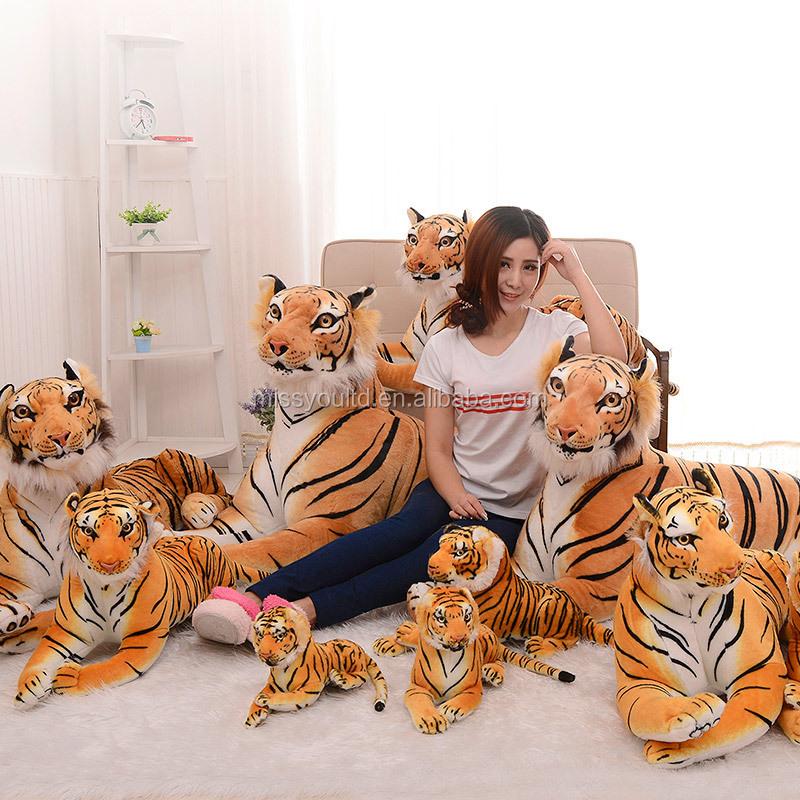 China Factory plush animal tiger panda stuffed soft cheap Toy