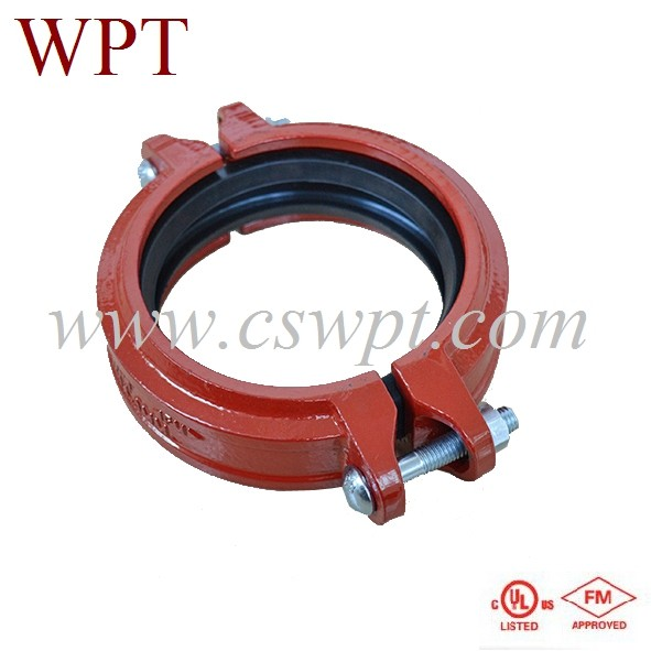 FM/UL Ductile Cast Iron Grooved Fittings and couplings