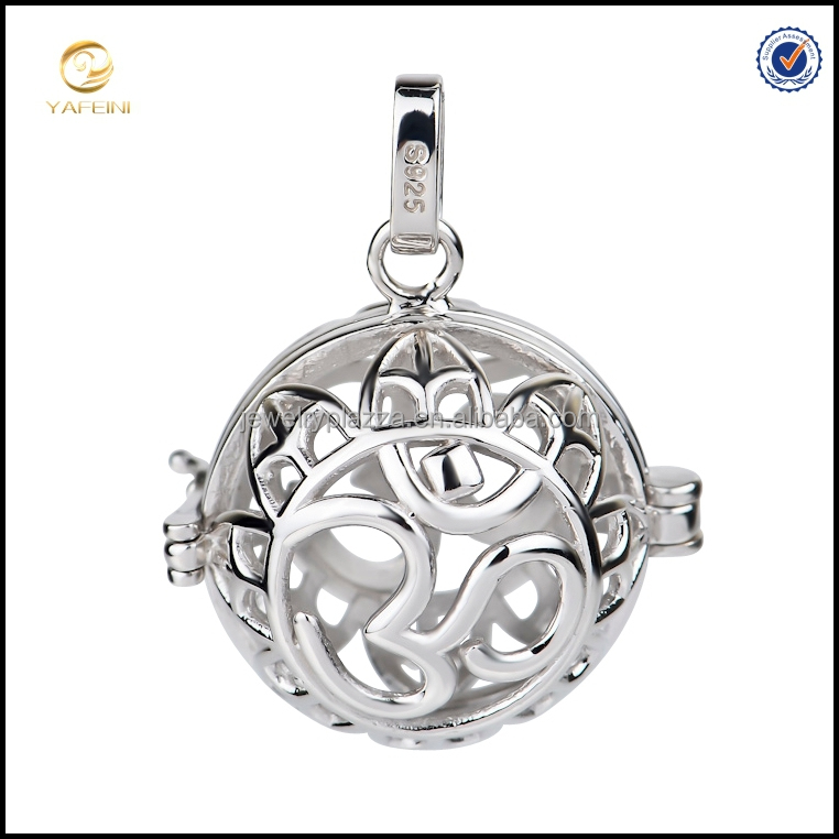 Newest OM Design 925 Silver harmony ball cage