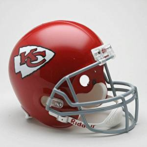 Kansas City Chiefs 63-73 Riddell VSR4 Replica Full Size Football Helmet