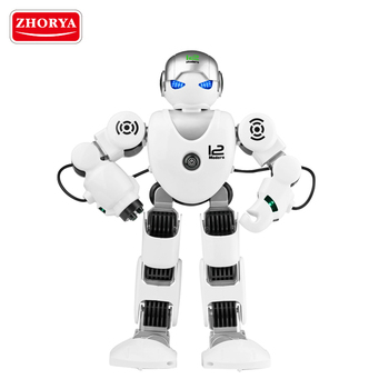 Zhorya 2017 new intelligence radio control robot smart functional alpha rc robot toy