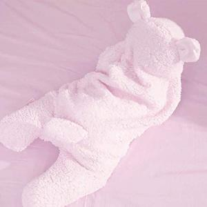 Parentswell Newborn Baby Cute Cotton Receiving Pink Girl Baby Wrap Swaddle Blanket