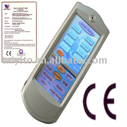 TAIYITO X10 touching screen universal remote control