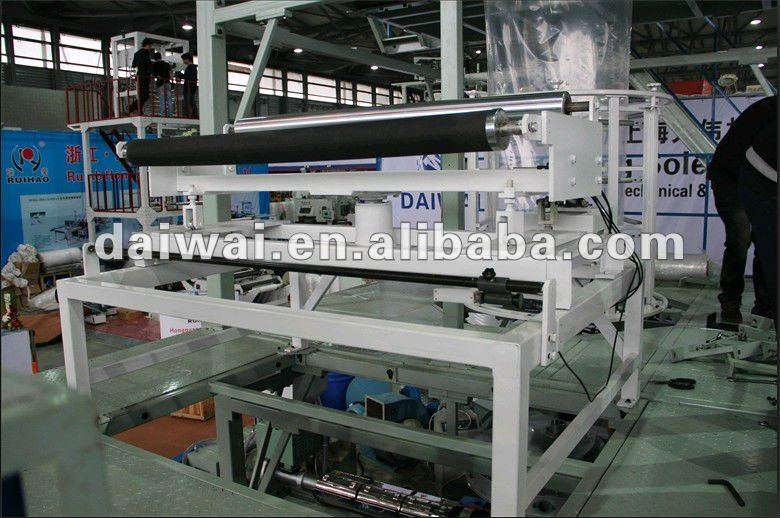 PE sheet extrusion line with full automatic double winder and corona and IBC cooling system