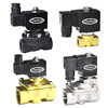 24V 12VDC normally closed diaphragm water air magnetic solenoid valve 230V