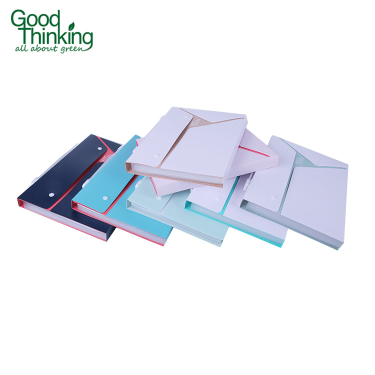 A4 office and school colorful hardcover eco-friendly custom file folder