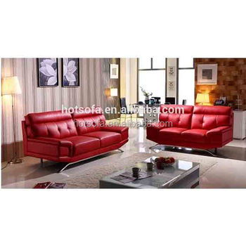 Red sofa set design 3 2 1 leather sofa set for living room furniture sets,  View 3 2 1 leather sofa set, H&T Product Details from Foshan H&T Furniture  ...