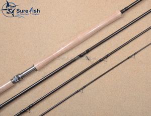Wholesale Japan toray nano carbon switch salmon fly fishing rod