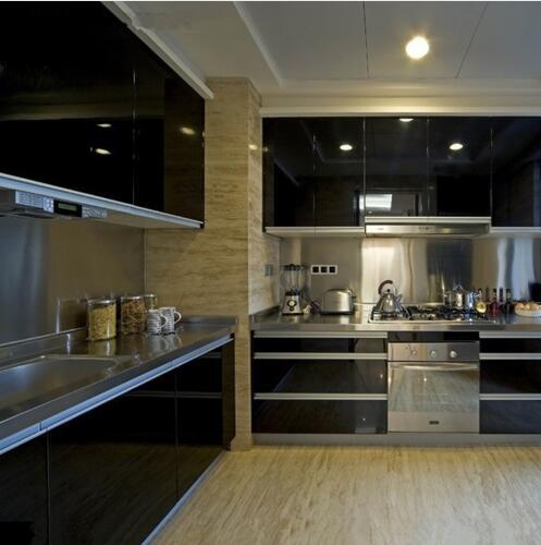 Kitchen Cabinet Wallpaper: PVC Self Adhesive Wallpapers Furniture Kitchen Cabinet