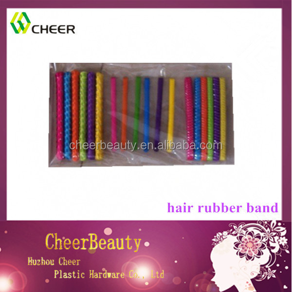 colorful hair accessory hair clip with elastic band