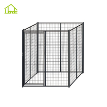 wholesale outdoor large dog kennel cage/iron fence dog kennel/chain link fence prices