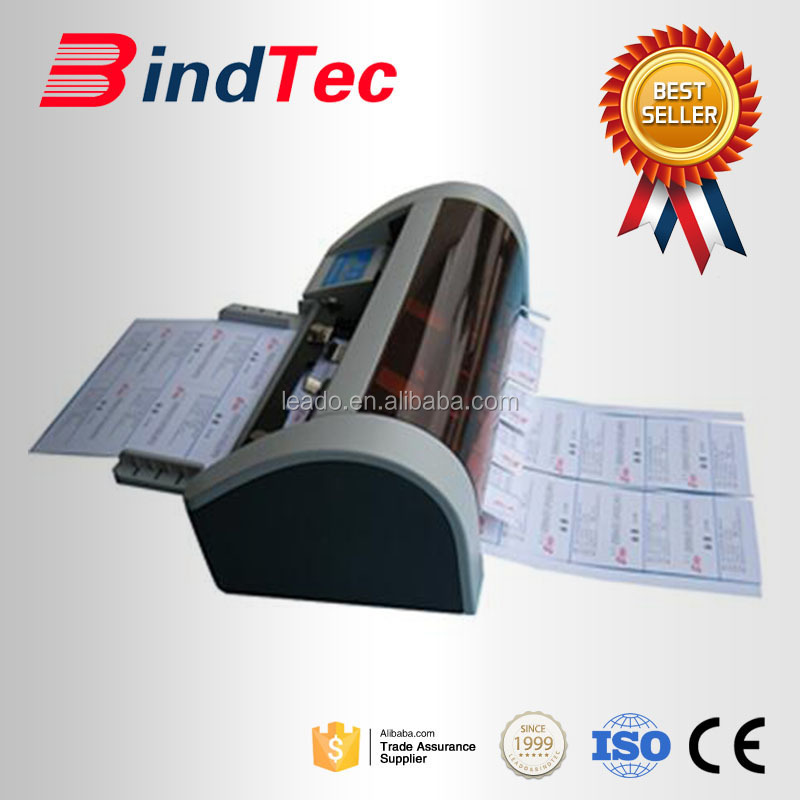 SSB-001A3/A3/SRA6 hot sale electric automatic name card cutter,after service provided business card cutter