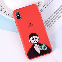 Lovebay Telefon Fall Für iPhone 6 6s 7 8 Plus X XR XS Max Nette Cartoon Brief Deer Smiley gesicht Weiche TPU Für iPhone 5 5S SE Abdeckung