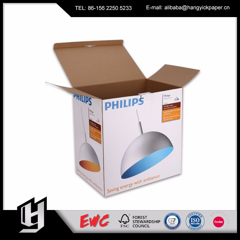 Reasonable price disposable box packaging corrugated cardboard