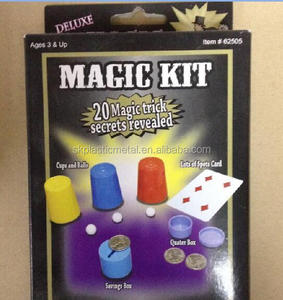 SK-62505 Deluxe Magic Kit - 20 Magic Trick Secrets Revealed