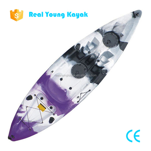 Single Seat Boat Plastic Rotomold Kayak montu Fishing