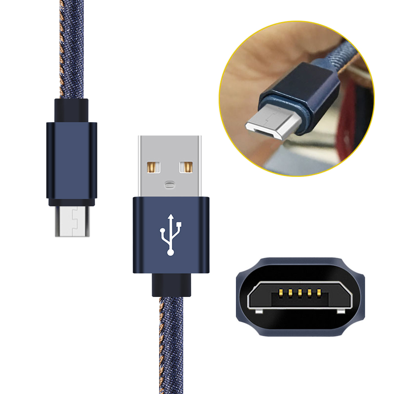 Quality Assurance 1M /2M /3M cell phone sync charging cable,micro type c usb cable for iphone 5 6 7 ipad ipod