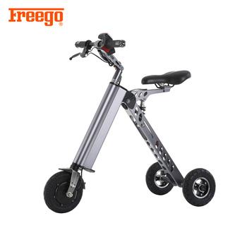 3 Wheel Portable Folding Electric Bike Bicycle Mini E