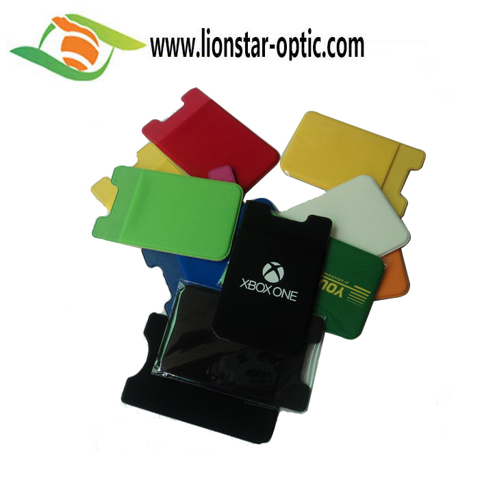 3M Sticker Adhesive Phone Holder Wallet ID Card Holder For Promotion