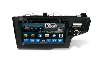 Gps,Dvd,Radio,Bluetooth,3g/4g,Wifi,Swc,Obd,Ipod,Mirror-link,Tv For Honda  Fit /jazz 2014 - Buy Car Dvd Player With Android/gps,Capacitive Touch  Screen