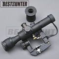 Optics Riflescope SVD Dragunov Tactical 4x26 Red Illuminated Rifle Scope Softair Red Dot Tactical Sight Rifle