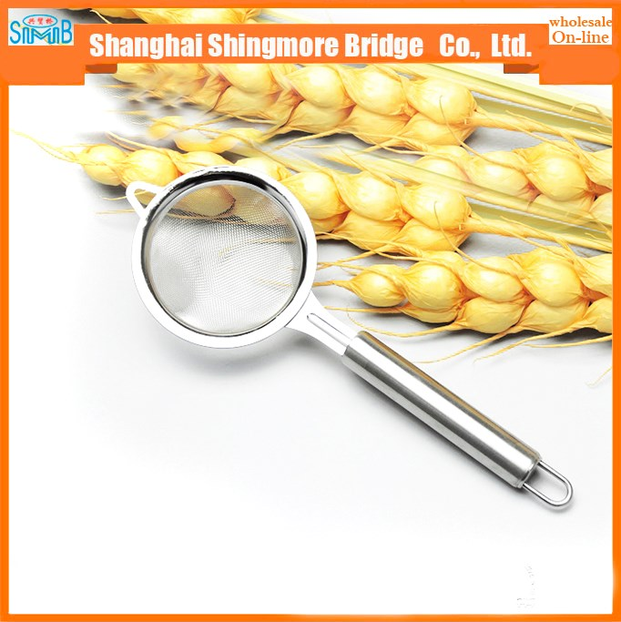 china hot sales cheap price stainless steel spoon strainer