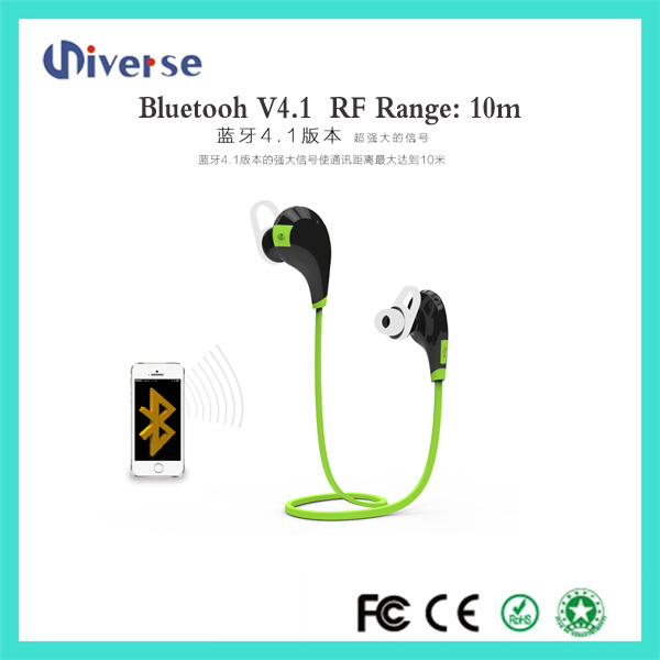 USB Connectors and Wireless Communication Sport Stereo Subwoofer In-ear bluetooth Headphones , earphone , earbuds