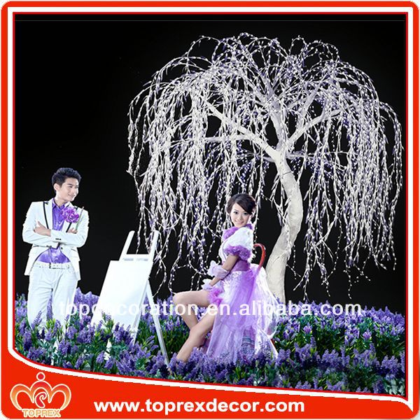2014 New products purple wedding decorations
