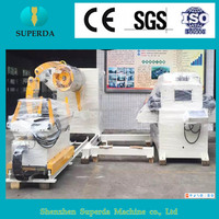 China supplier 3 in nc servo, uncoiler leveler and feeder